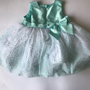 Holiday Editions Blue Tulle Dress (12 mos)